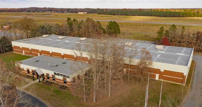 Production Site IMPREG LLC - CIPP Liner manufacterer Americas